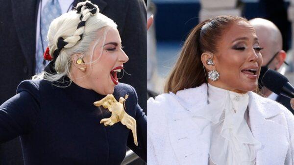 Lady Gaga_Jennifer Lopez_orkomosia_Μπάιντεν